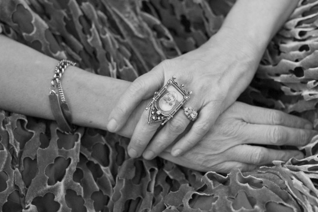 Gail Chovan Skull Ring